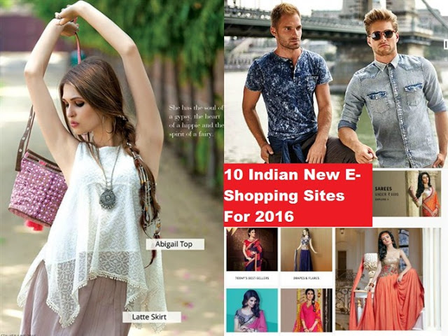 New-Online-E-Shopping-Sites-List-For-Shopaholics-India-2016